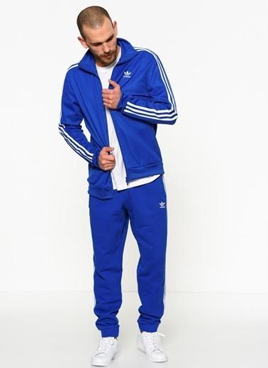 adidas Fermuarlı  Sweatshirt Renkli